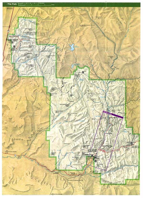 Free Download Utah National Park Maps