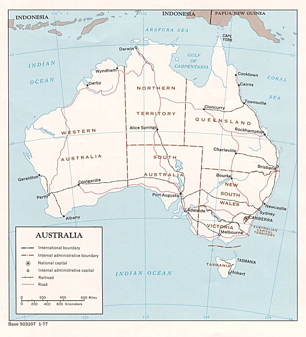Free Download Australia Oceania Maps