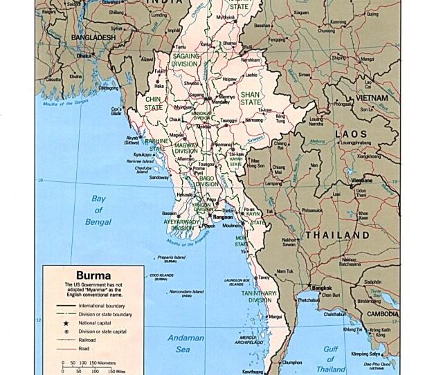 Download Free Burma Myanmar Maps