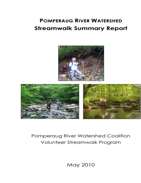 Streamwalk Report Cover