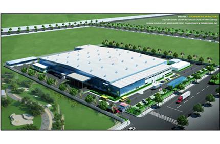 Nhà máy Crown New Can - Đà Nẵng