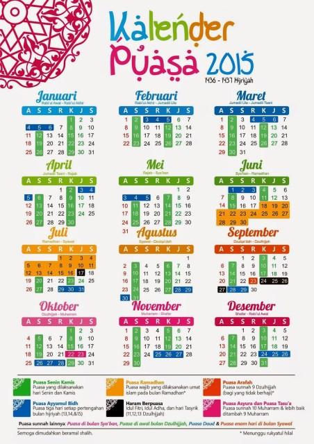 Kapan Puasa Arafah 2016 : kapan, puasa, arafah, Kalender, Pendidikan, Tapel, 2015/2016, Seksi, Madrasah