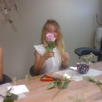 Bonne Fête Maman ! Décopatch et fleurs coupées