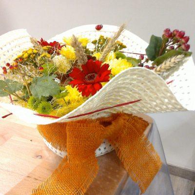 Capeline fleurie