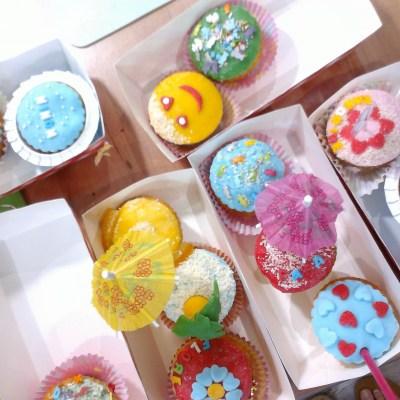 """Cupcakes """"été"""""""