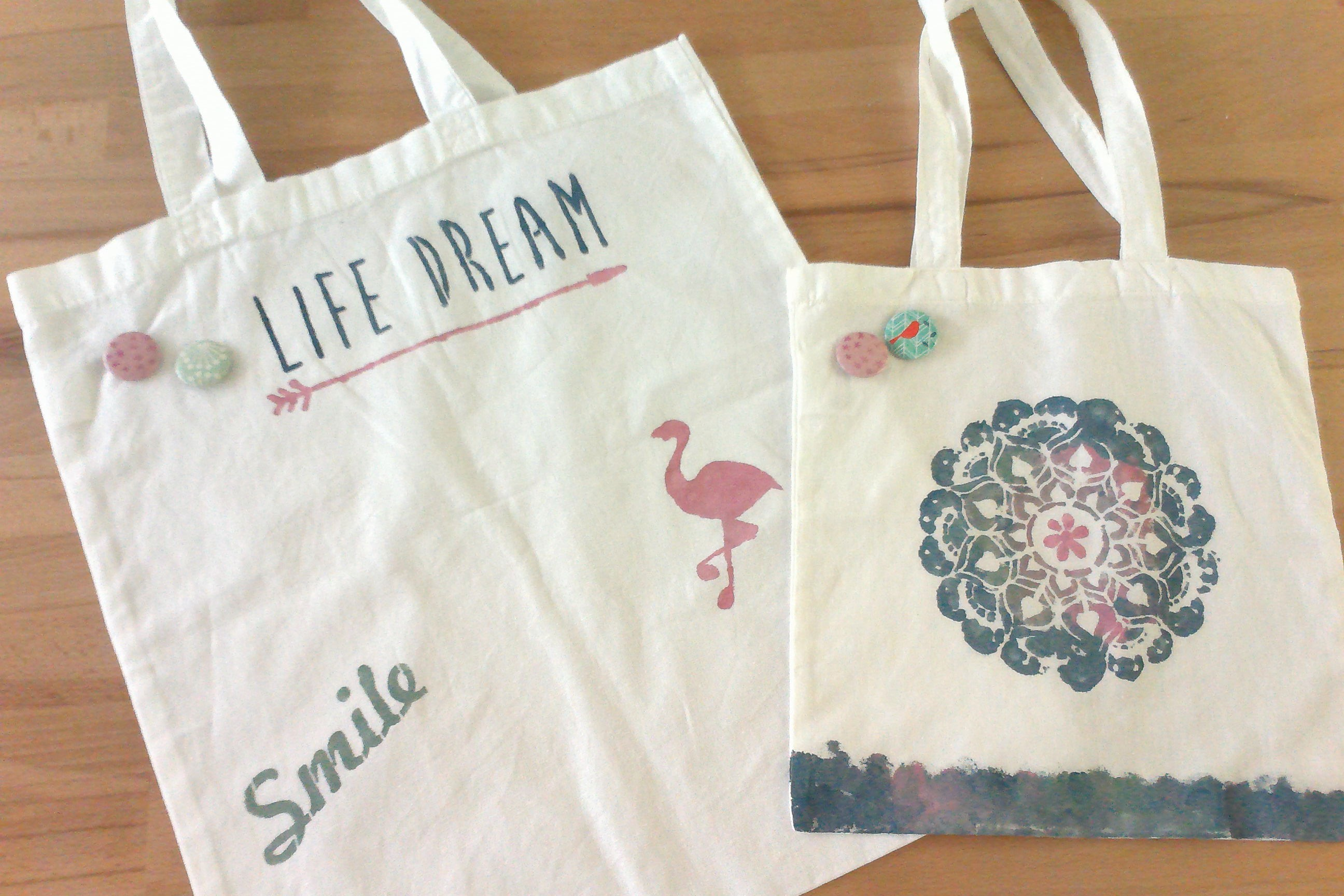 ATELIERS CUSTOMISATION – Tote Bag « Ethnique »
