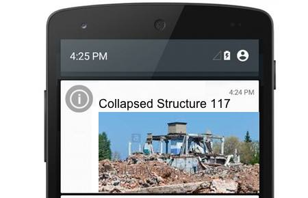 MapGage mobile app can be used to assign tasks to turf maintenance team members using drones to capture post disaster maps for earthquakes and floods and manage post disaster rescue efforts.