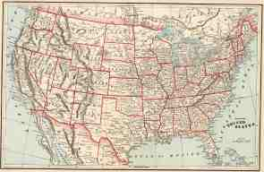 Us Map Collection Old Historical U S And State Maps