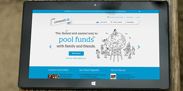 Crowdtilt Plans Finances for Group Traveling via @maphappy