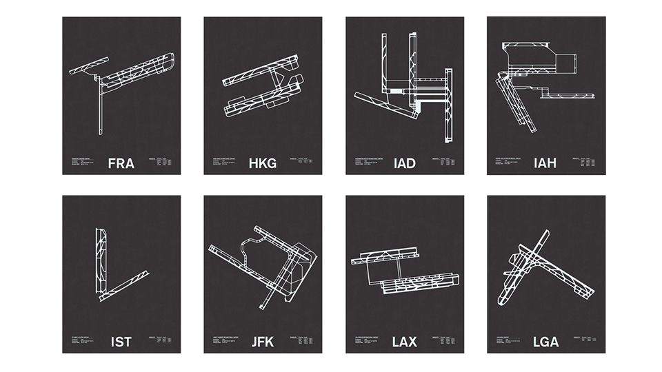 NOMO Design's Airport Maps Spruces Up the Walls via @maphappy