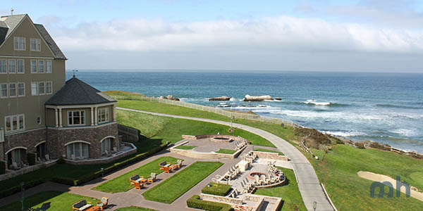 The Ritz Carlton at Half Moon Bay, just outside of San Francisco.