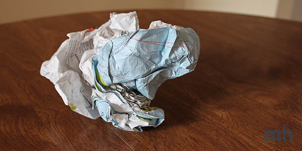 "Reviewing the Light, ""Indestructible"" Crumpled City Maps via @maphappy"