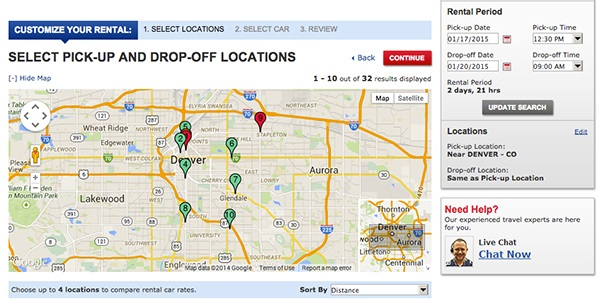Why You Want To Avoid The Car Rental Airport Pickup Map Happy