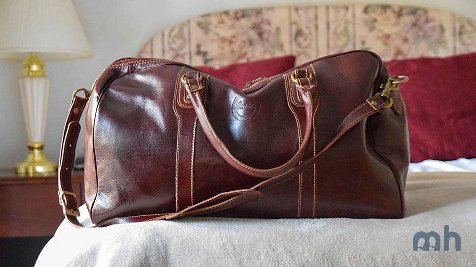 The Cenzo Duffle Delivers a First-Class Bag at a Fraction of the Price via @maphappy