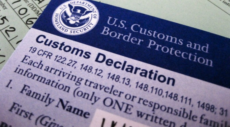How to fill out a us customs form altavistaventures Gallery