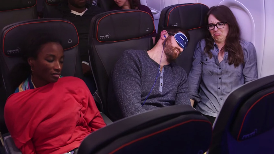 JetBlue's Video Series on Flight Etiquette Totally Nails It. via @maphappy