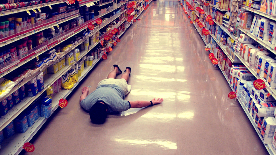 Because this is what will happen if you attempt to grocery shop directly after a trip. (TheeErin / Flickr)