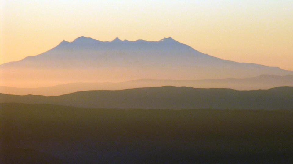 Mount Ruapehu in New Zealand. (Phillip Capper / Flickr)