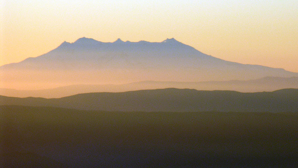 Mount Ruapehu in New Zealand. (Phillip Capper / Flickr)