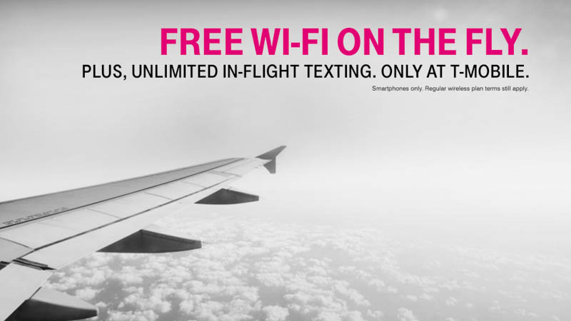T-Mobile Customers Get Free Gogo In-Flight Wi-Fi via @maphappy