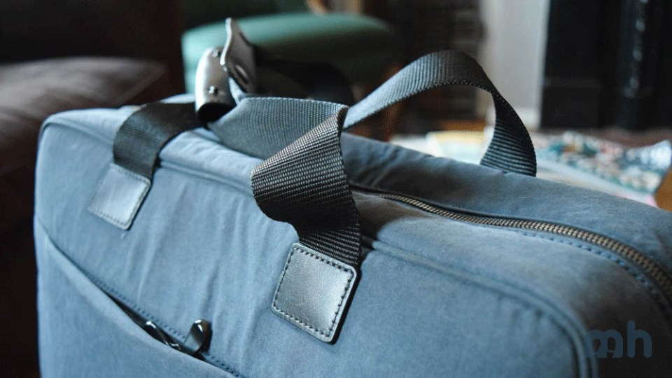 Anchor points for luggage straps.