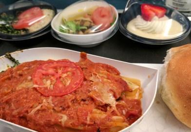 The Pasta Option on Turkish Airlines, JFK-IST