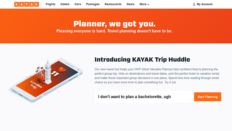 KAYAK's Trip Huddle Is Another Great Tool for Group Travel Planning via @maphappy