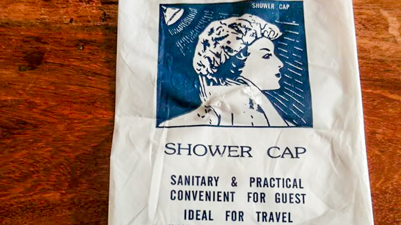 Repurposing Those Weird Travel Amenities (Like the Shower Cap) via @maphappy