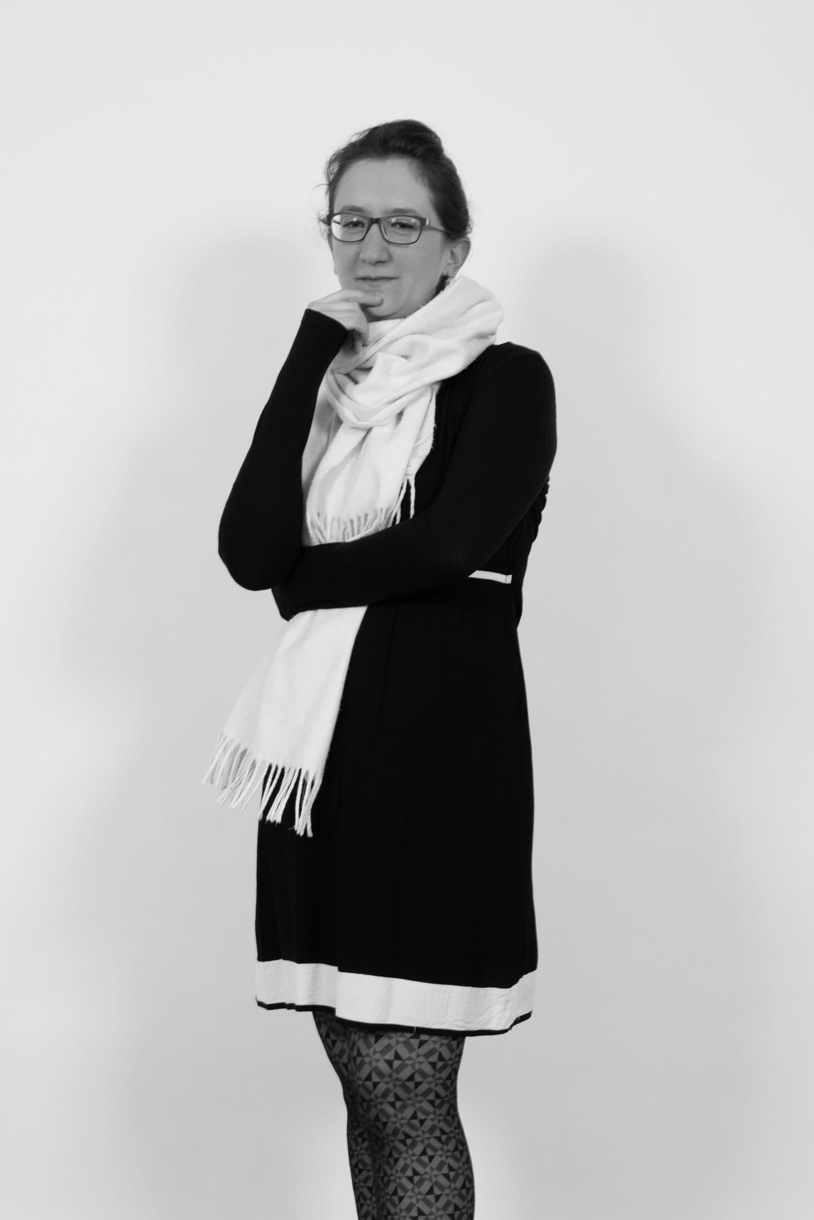 Portrait professionnel de la photographe, Sophie Martz