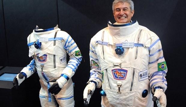 Astronauta Marcos Pontes estará em Manaus.