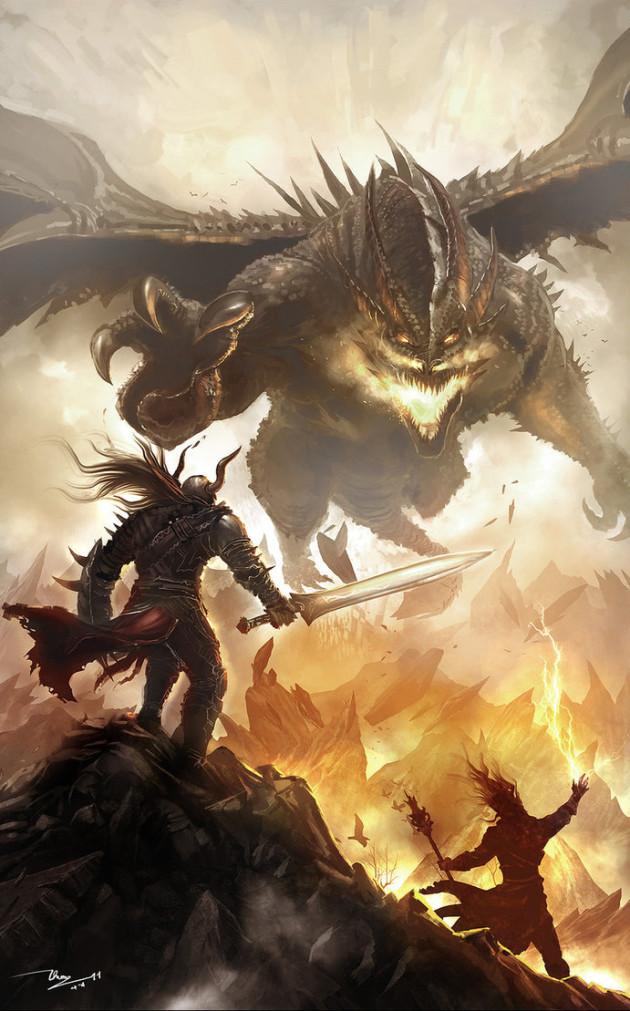 dragon_warrior_by_thiennh2-d3e0i9q