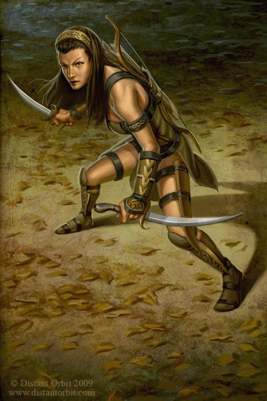 532x800_243_Ranger_2d_fantasy_girl_female_woman_warrior_ranger_archer_picture_image_digital_art