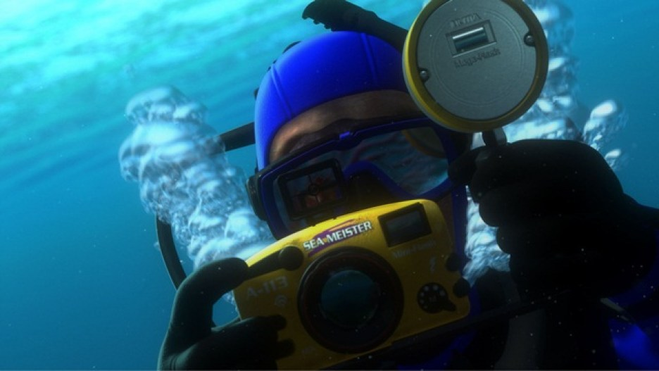 """""""A113"""" moment in FINDING NEMO. ©Disney/Pixar. All Rights Reserved."""