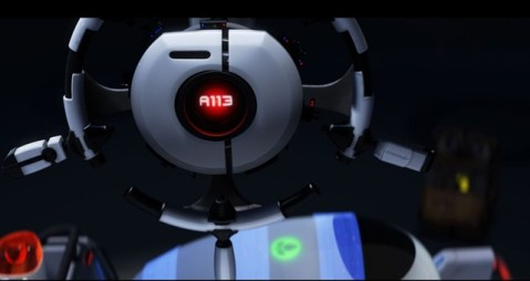 """A113"" moment in WALL-E. ©Disney/Pixar. All Rights Reserved."