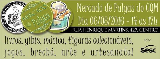 ad2a78c61b1 Mercado de Pulgas acontece no fim de semana - Mapingua Nerd