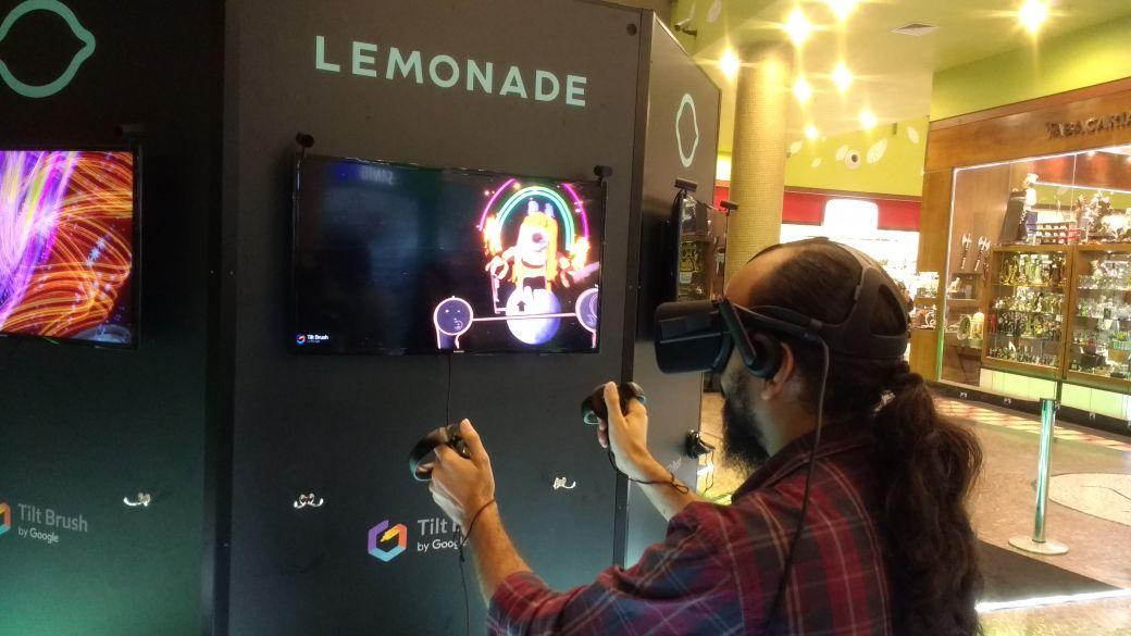 Shopping de Manaus recebe exposição gratuita de experiência VR