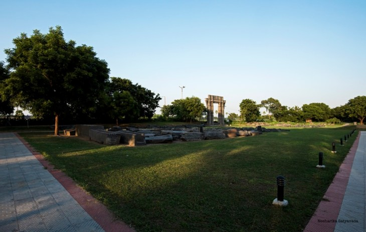 warangal places_warangal fort park