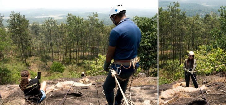 Kerala Things To Do_Adventure_Wayand_Rapelling
