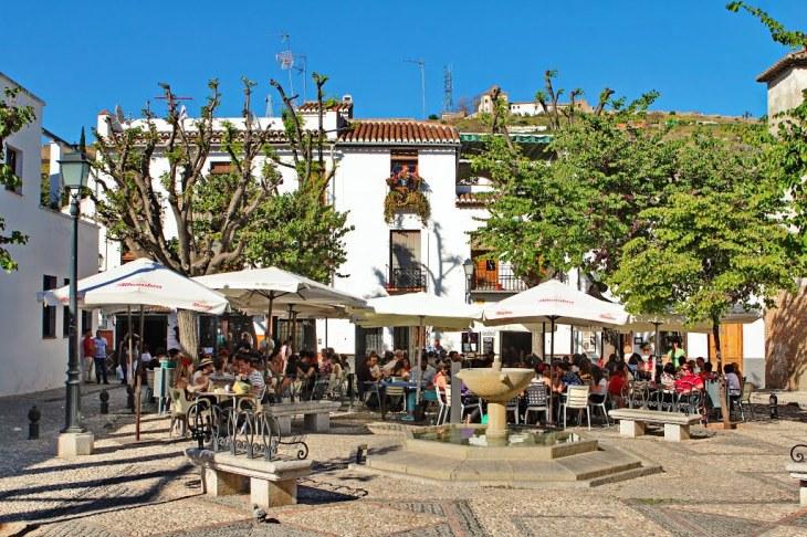Plaza Aliatar, Granada | Mapio.net