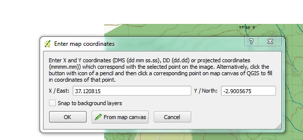 Add lat, lon for the image corner.