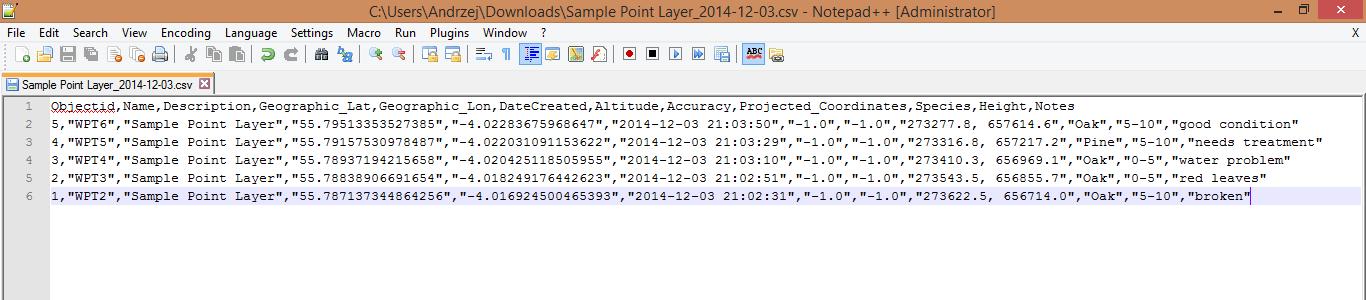 Export Data - File Formats - mapitGIS