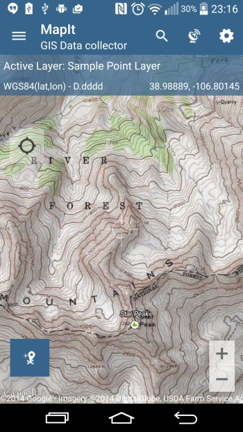 Esri – US Topographic Map