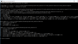 Node.js – mapnik installation
