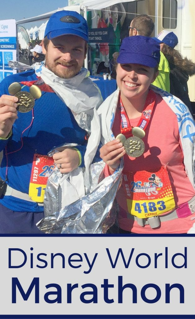 Running the Walt Disney World Marathon