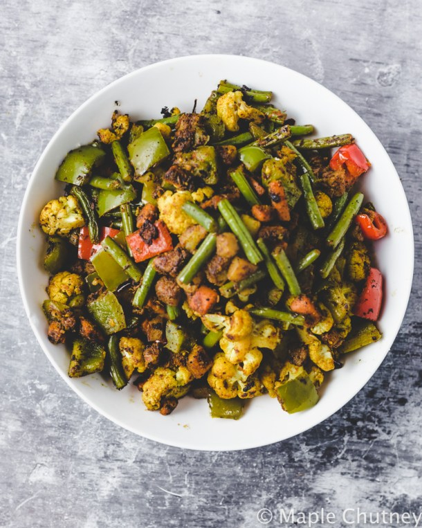 mixed veg sabzi for thali recipe