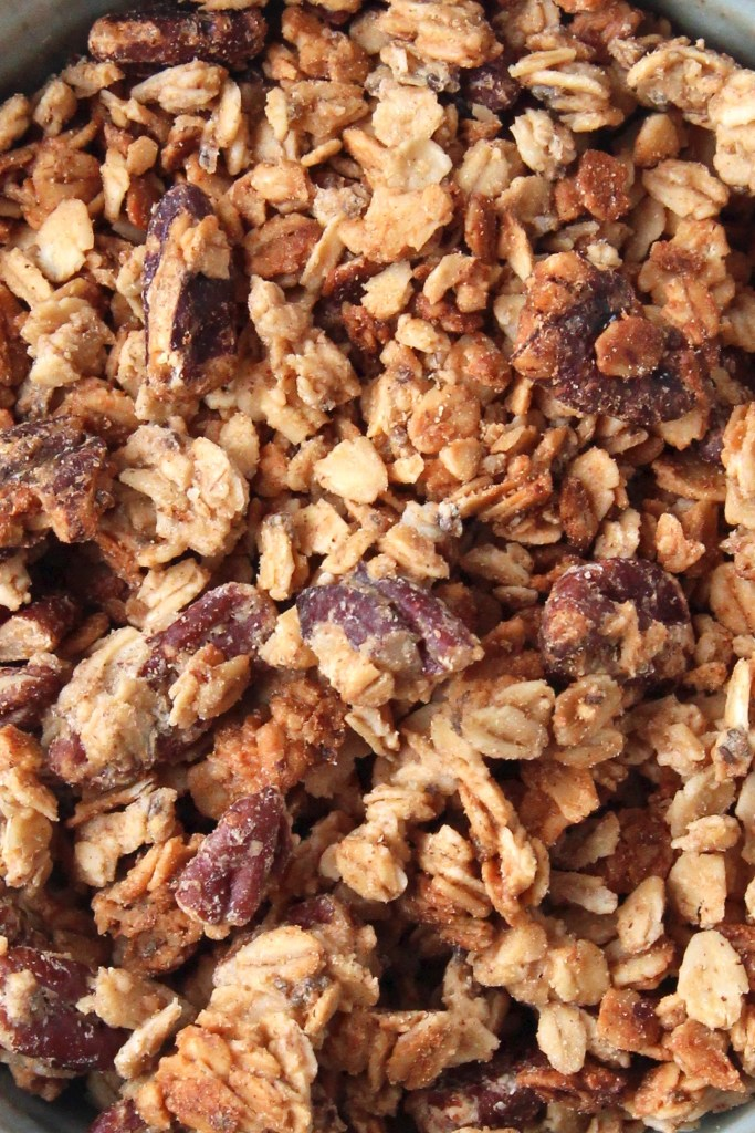 Maple and pecan granola - This homemade granola is easy and quick to make! Perfect for breakfast or a snack! | mapleetchocolat.com