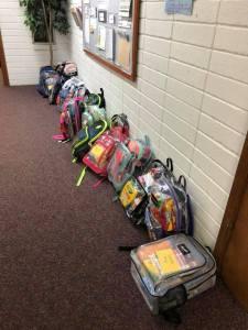backpacks for Marshall County