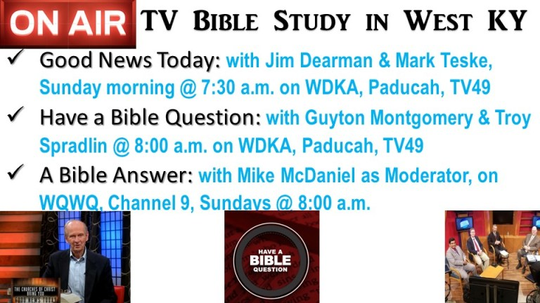 Listing of Bible Study TV Programs