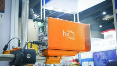 Hx Nitro printer display at Propak Asia in Thailand