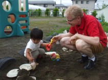 Playing in the Sandbox in English